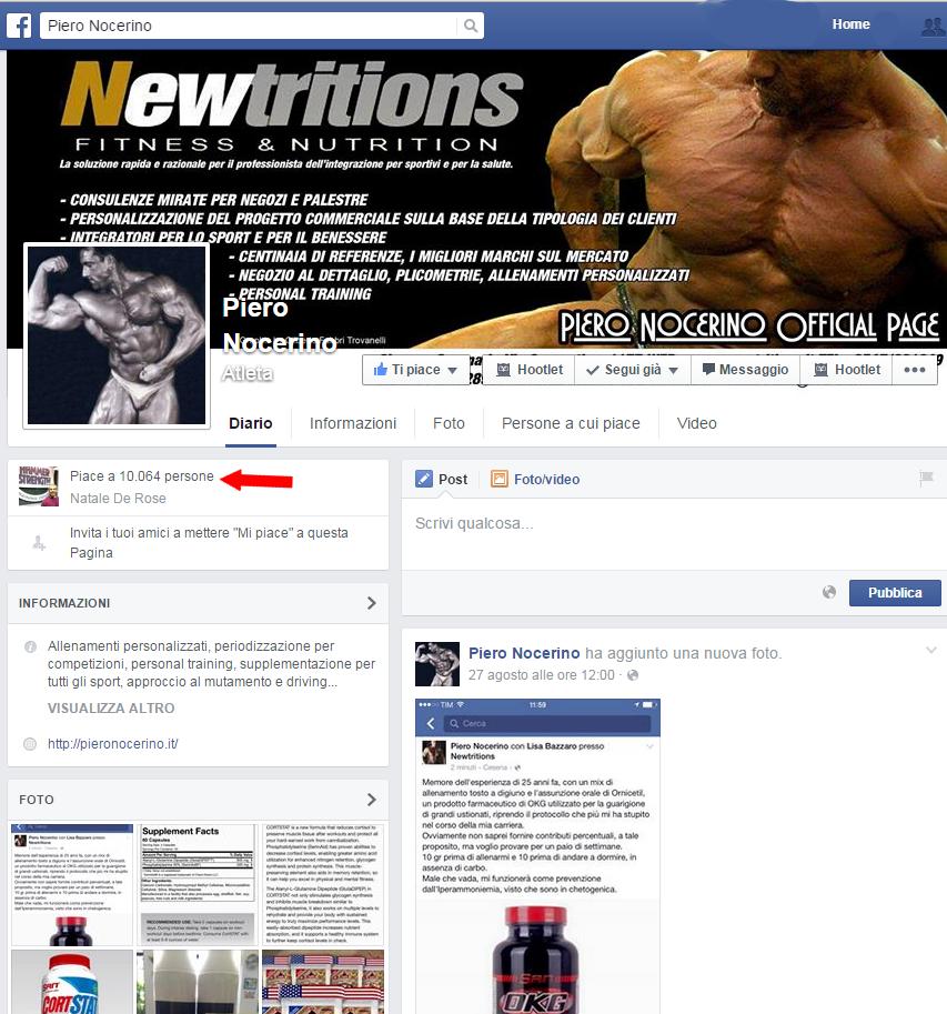 10.000 likes Piero Nocerino